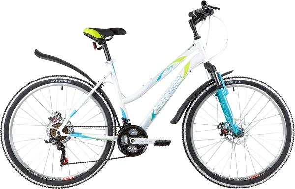 """139822 2 - Велосипед Stinger LATINA D, р.19, цвет Белый, 2020г., колеса 26"""""""