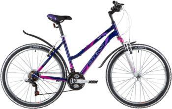 """139823 2 350x223 - Велосипед Stinger LATINA, р.19, цвет Фиолетовый, 2020г., колеса 26"""""""