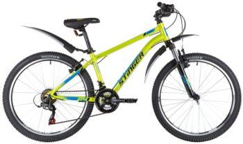 """139831 2 350x208 - Велосипед Stinger ELEMENT STD, р.14, цвет Зеленый, 2020г., колеса 24"""""""