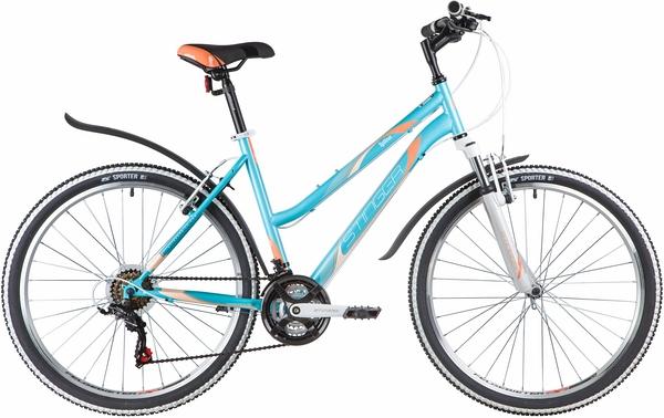 """139929 2 - Велосипед Stinger LATINA, р.19, цвет Синий, 2020г., колеса 26"""""""
