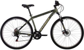 """140000 2 350x210 - Велосипед Stinger CAIMAN D, р.18, цвет Зеленый, 2020г., колеса 29"""""""