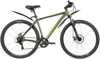 """140001 2 350x207 - Велосипед Stinger CAIMAN D, р.20, цвет Зеленый, 2020г., колеса 29"""""""