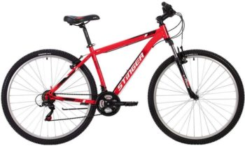 """140004 2 350x209 - Велосипед Stinger CAIMAN, р.18, цвет Красный, 2020г., колеса 27"""""""
