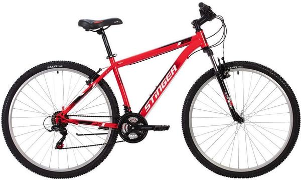"""140004 2 - Велосипед Stinger CAIMAN, р.18, цвет Красный, 2020г., колеса 27"""""""