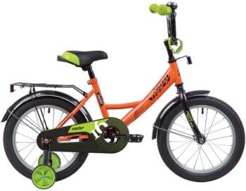 """140640 2 350x271 - Велосипед NOVATRACK VECTOR, Детский, р. 8,5"""", колеса 12"""", цвет Оранжевый, 2020г."""