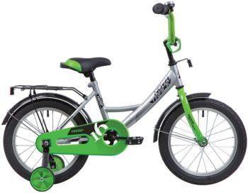 """140642 2 350x272 - Велосипед NOVATRACK VECTOR, Детский, р. 8,5"""", колеса 12"""", цвет Серебристый, 2020г."""