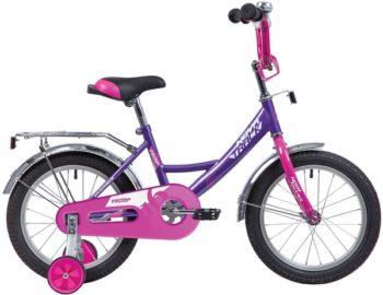 """140643 2 350x270 - Велосипед NOVATRACK VECTOR, Детский, р. 8,5"""", колеса 12"""", цвет Фиолетовый, 2020г."""