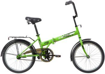 """140675 2 350x247 - Велосипед NOVATRACK TG301, Складной, р. 14"""", колеса 20"""", цвет Зеленый, 2020г."""