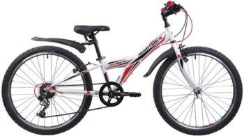 """140690 2 350x195 - Велосипед NOVATRACK RACER, Скоростной, р. 10"""", колеса 24"""", цвет Белый, 2020г."""