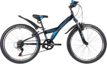 """140691 2 350x210 - Велосипед NOVATRACK RACER, Скоростной, р. 10"""", колеса 24"""", цвет Черный, 2020г."""