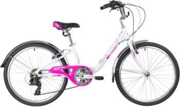 """140699 2 350x208 - Велосипед NOVATRACK ANCONA, Скоростной, р. 10"""", колеса 24"""", цвет Белый, 2020г."""