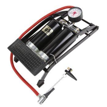 023606 2 350x350 - Насос ножной универ. с манометром, две камеры BOX 55х120, сталь.