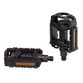 """039107 2 350x350 - Педали HF-818, ось 1/2"""", пластик, черные"""