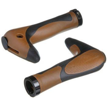 088302 2 350x350 - Грипсы-рога HL-G205, 150 мм, черно-коричневые