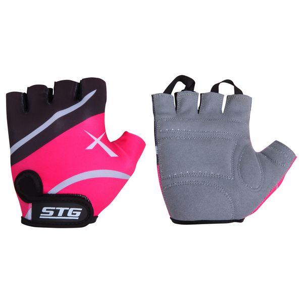 099901 2 - Перчатки STG летние быстросъемные с защитной прокладкой,застежка на липучке