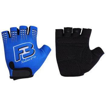 099910 2 350x350 - Перчатки STG летние с защитной прокладкой,застежка на липучке,материал-кожа+лайкра,размер L,синие