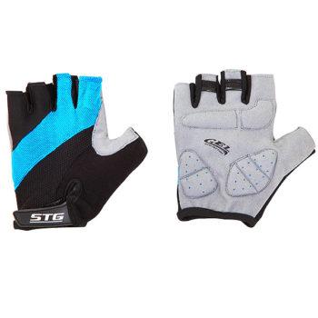 099918 2 350x350 - Перчатки STG летние с защитной гелевой прокладкой,застежка на липучке,мат.кожа+лайкра,размер М