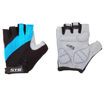 099920 2 350x350 - Перчатки STG летние с защитной гелевой прокладкой,застежка на липучке,мат.кожа+лайкра,размер ХЛ