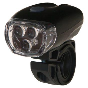 100222 2 350x350 - Фонарь велосипедный STG передний JY-566, 3 светодиода, 3 функции, батарея: АААх3 (в компл.не входит)