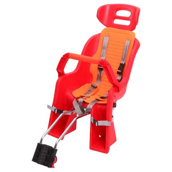 104274 2 - Кресло детское заднее Sunnywheel в цветной коробке, модель SW-BC-137,серая накладка