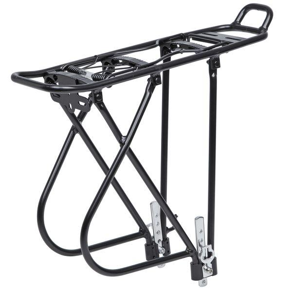 """110426 2 - Багажник для велосипеда STG, 26""""-28"""", задний KWA-637-05 , алюм., черн."""