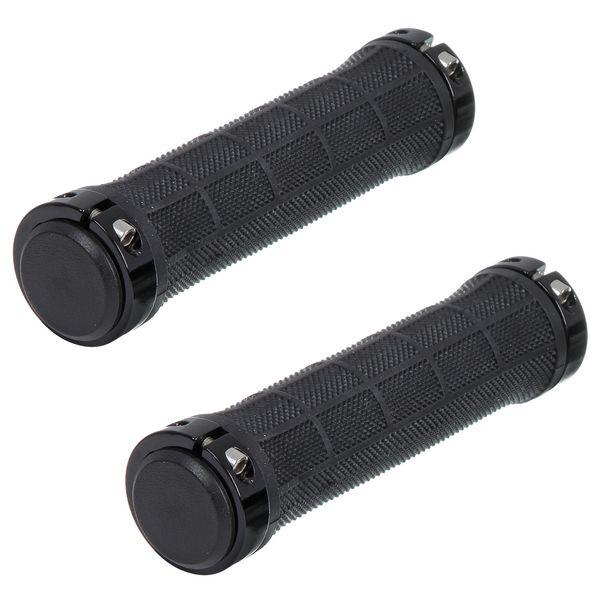 110438 2 - Грипсы STG, HL-G309, 130 мм, черный, инд.уп.