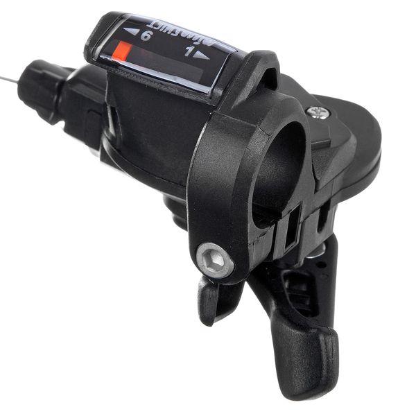 120165 2 - Шифтер microshift  TS-38-6 правый, на 6 скорости