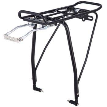 """120257 2 350x350 - Багажник для велосипеда 26""""-29"""", задний KWA-624-05, алюм., черн. Под диск."""