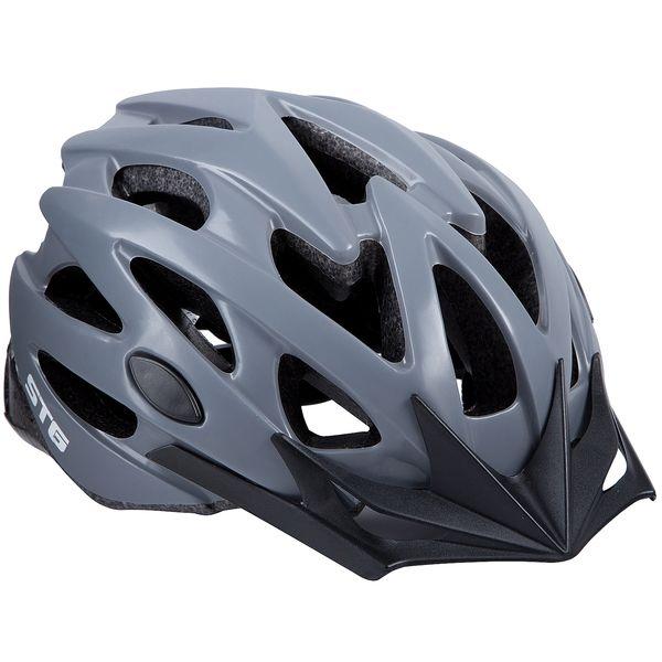 120273 2 - Шлем STG , модель MV29-A, размер L(58~61)cm цвет: серый матовый