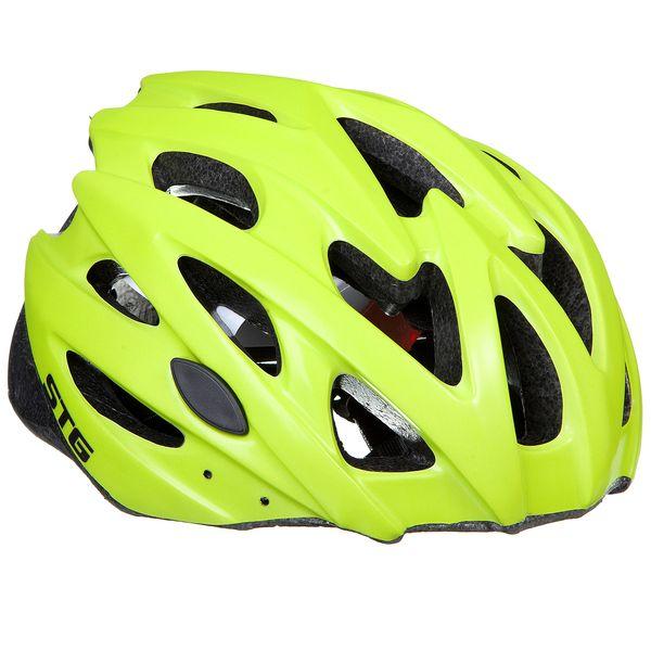 120278 2 - Шлем STG , модель MV29-A, размер M(55~58)cm цвет: зеленый матовый