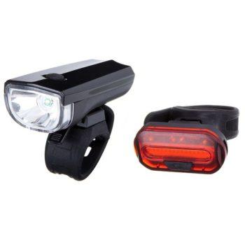 120289 2 350x350 - Комплект фонарей велосипедныхSTG,JY7024+6068T,задний+передний,резин.Хомут.Бат:(2*CR2032)(нет в комл)