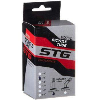 120332 2 350x350 - Камера велосипедная STG, бутил,16Х1,75/1,95 ,автониппель 33мм (упак.: коробка)
