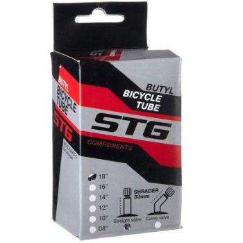 120334 2 350x350 - Камера велосипедная STG, бутил,18Х1,75 ,автониппель 33мм (упак.: коробка)