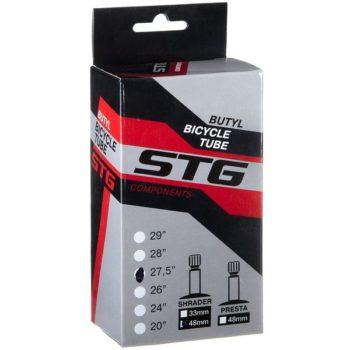 120346 2 350x350 - Камера велосипедная STG, бутил, 27,5Х1,95/2,125 ,автониппель 48мм (упак.: коробка)