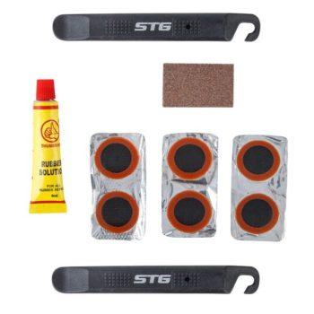 120419 2 350x350 - Велоаптечка STG YC129A, монтажки+заплатки+клей, в компл.