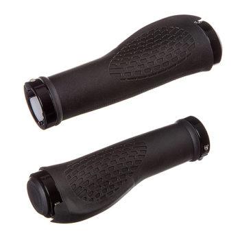126967 2 350x350 - Грипсы STG  JT-G6188, 130 мм, черные,комфортные, с крепежами.