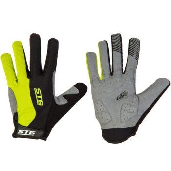 127247 2 350x350 - Перчатки STG с длинными пальцами и защитн.прокладкой,застежка на липучке,размер M