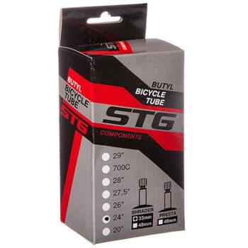 127296 2 350x350 - Камера велосипедная STG, бутил ,24Х1,95/2,125 ,автониппель 33мм (упак.: коробка)