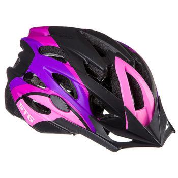 127469 2 350x350 - Шлем STG , модель MV29-A, размер L(58-61)cm розово/фиолет /черн, с фикс застежкой
