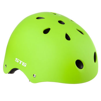 127475 2 350x350 - Шлем STG , модель MTV12, размер  S(53-55)cm салатовый, с фикс застежкой.