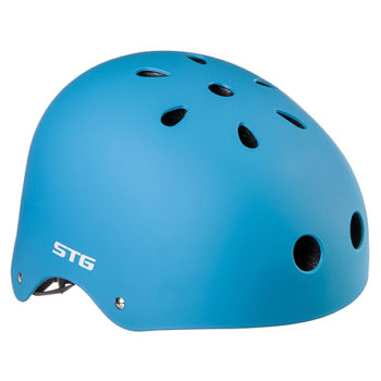 127478 2 350x350 - Шлем STG , модель MTV12, размер  S(53-55)cm синий, с фикс застежкой.