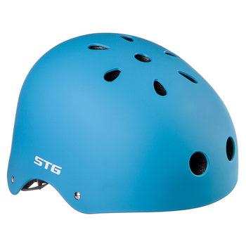 127479 2 350x350 - Шлем STG , модель MTV12, размер  M(55-58)cm синий, с фикс застежкой.
