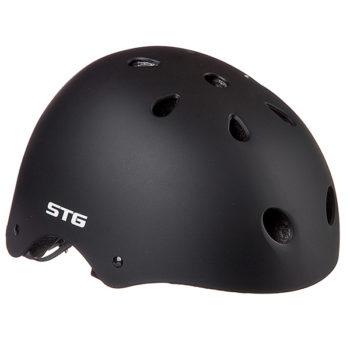 127481 2 350x350 - Шлем STG , модель MTV12, размер  S(53-55)cm черный, с фикс застежкой.