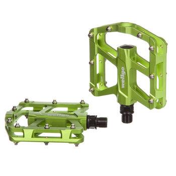 128547 2 350x350 - Педали STG ,модель B299, алюм,ось 9/16, пром. подшип.Платформа с шип.Цвет:зелен.