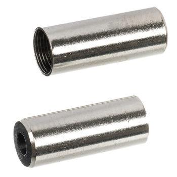 128592 2 350x350 - Наконечник Скоростной оплетки STG HJ-D92N алюм. 4.3мм серебр. Инд упак 100 шт в упак.
