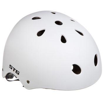 135682 2 350x350 - Шлем STG , модель MTV12, размер  XS(48-52)cm белый, с фикс застежкой.