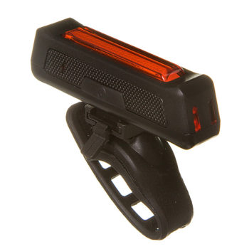 135857 2 350x350 - Фонарь велосипедный STG,TL5407, задний, USB, резин. Хомут. Аккум (3.7V 550mAh) черный