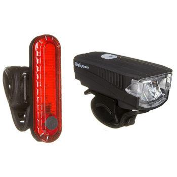 135872 2 350x350 - Комплект фонарей STG FL1588(300 люм звонок 120fb (1200MmAH)) + BCTL5477 (usb)