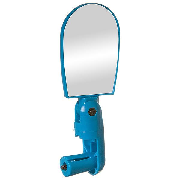 135884 2 - Зеркало  для велосипеда  BC-BM101 c крепление в руль. С рег. Угла. Синее