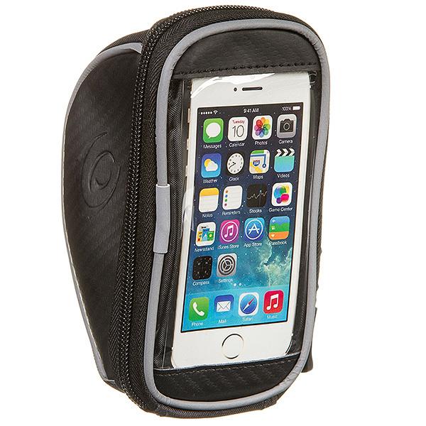 135901 2 - Велосумка Roswheel 1180S-AK на руль, для телефона размер S черная